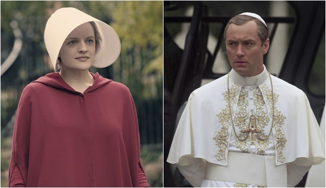 BluTV dizileri The Handmaid's Tale ve The Young Pope, Golden Globe'da!