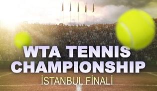 WTA Tennis Championship İstanbul Kadınlar Finali, Kanal D'de ekrana gelecek!