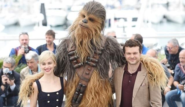 Han Solo: Bir Star Wars Hikayesi filminin prömiyeri Cannes'da gerçekleşti!