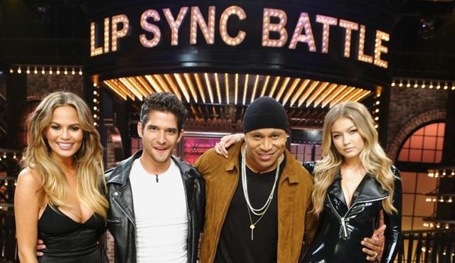 Lip Synch Battle'da bu hafta Gigi Hadid ile Tyler Posey sahnede