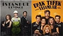 KATS Sahne iki oyun geliyor: Ufak Tefek Yaşamlar - İstanbul Deyince