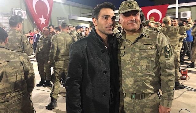 Mustafa Yıldıran, Zeytindalı harekatında görev yapan Mehmetçikleri ziyaret etti!