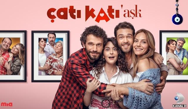 Çatı Katı Aşk dizisinden bir afiş daha yayınlandı!
