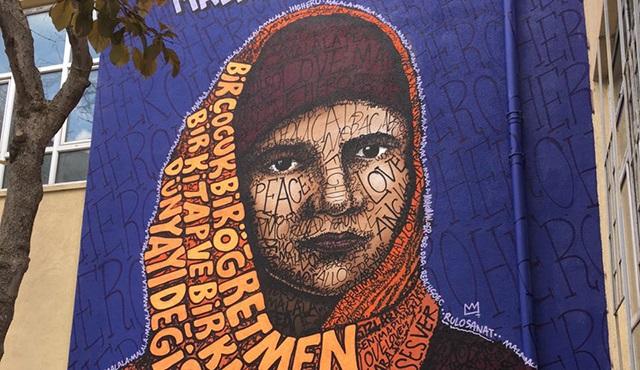 Highero'dan Kızlara Ses Ver Kampanyasına Malala portresi ile destek