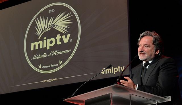 MipTv Onur Madalyası ilk kez bir Türk'e verildi