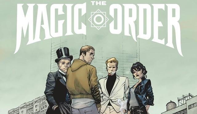 Netflix'in ilk çizgi romanı Magic Order'ın dizisi geliyor