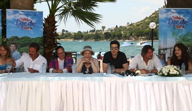Kalbim Ege'de Kaldı oyuncuları basın toplantısı gerçekleştirdi!