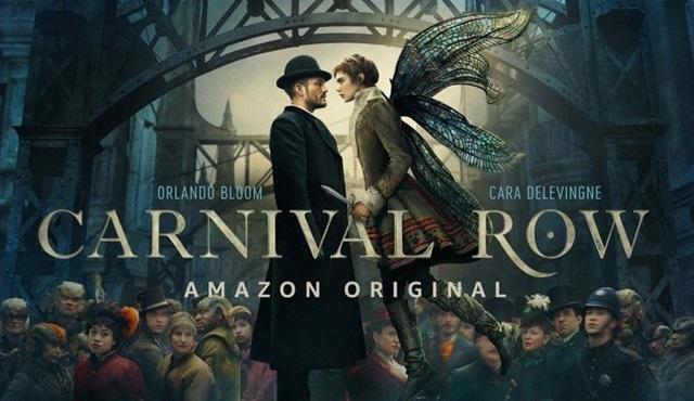Orlando Bloom'lu ve Cara Delevinge'li yeni dizi Carnival Row 30 Ağustos'ta başlıyor