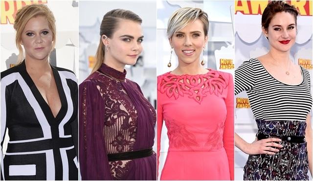 '2015 Mtv Movie Awards' ödül töreni gerçekleştirildi!