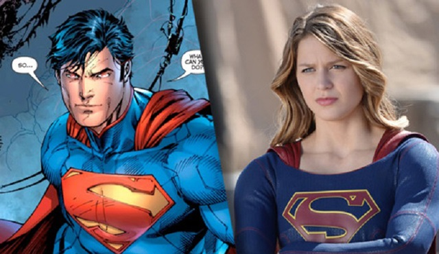 Superman'i Supergirl'de göreceğiz