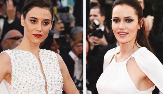 Kırmızı Halı Güzelleri: Cansu Dere ve Fahriye Evcen Cannes Film Festivali'nde