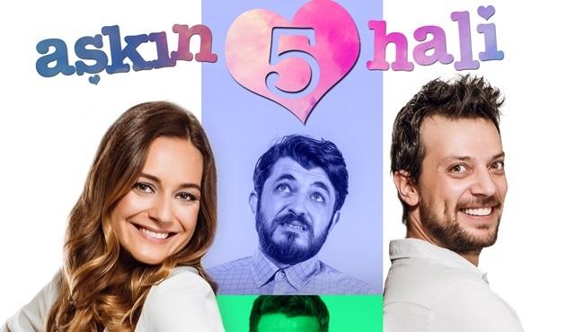 Aşkın 5 Hali filmi Kanal D'de ekrana gelecek!
