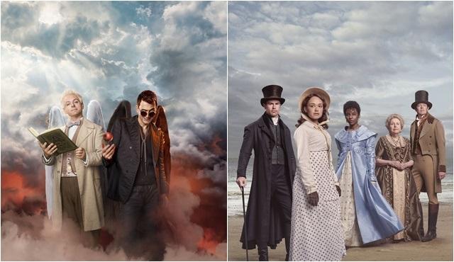 Good Omens ve Sanditon dizileri Ekim ayında BBC First'te!