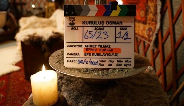Kuruluş Osman dizisinin yeni sezon çekimleri başladı!