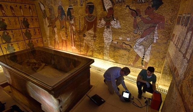 Kral Tutankhamun'un mezarı National Geographic tarafından açılıyor!
