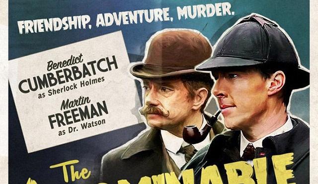 Sherlock özel bölümü için iki poster paylaşıldı