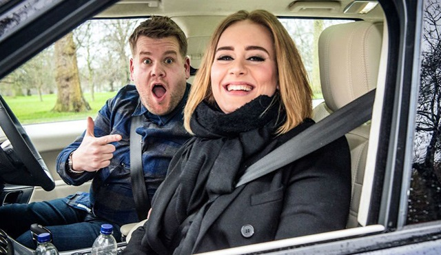 Carpool Karaoke, Adele ile Youtube rekoru kırdı