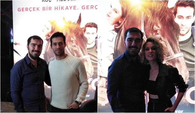 Şampiyon filminin oyuncuları, Deniz Ali Tatar'la 6.Seans'a konuk oldu!