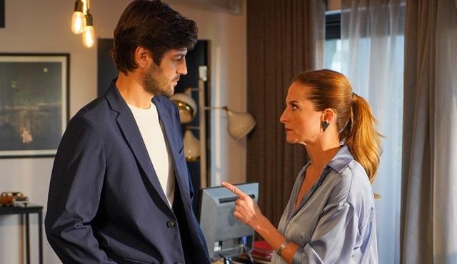 Menajerimi Ara dizisinde Feris ve Serkan arasında ipler geriliyor!
