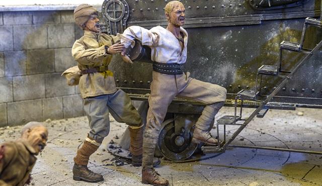 Çanakkale Savaşı'nın efsane kahramanı Seyit Onbaşı dioraması AKS'de ziyaretçilerle buluşuyor!