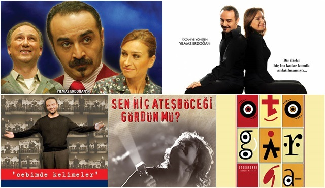 Yılmaz Erdoğan'ın sevilen tiyatro oyunları puhutv'de!