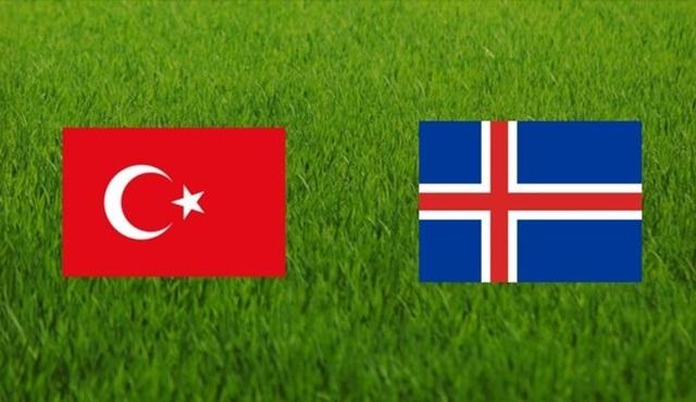 Türkiye - İzlanda maçı TRT1'de ekrana gelecek!