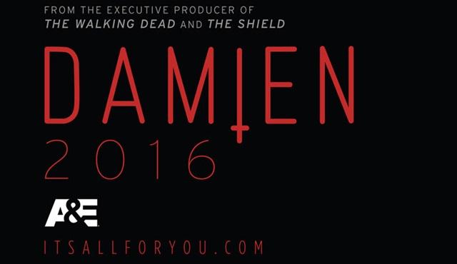 A&E'nin yeni dizisi Damien için ilk poster geldi