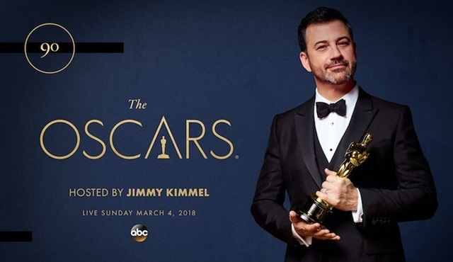Jimmy Kimmel 90. Akademi Ödülleri'nin de sunucusu oldu