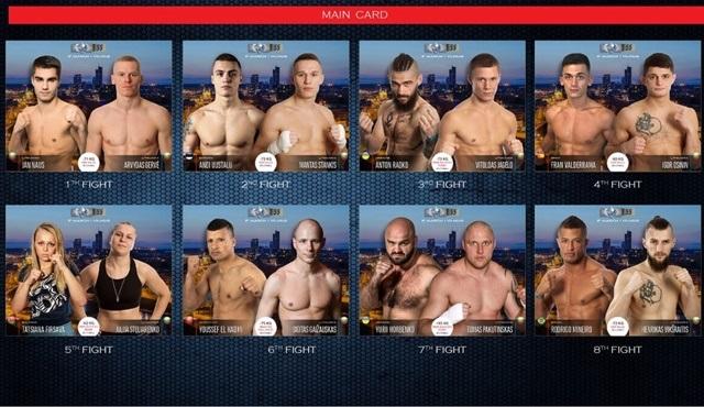 Litvanya'dan canlı yayınlanacak KOK Dövüş Şampiyonası FightBox HD'de ekrana gelecek!