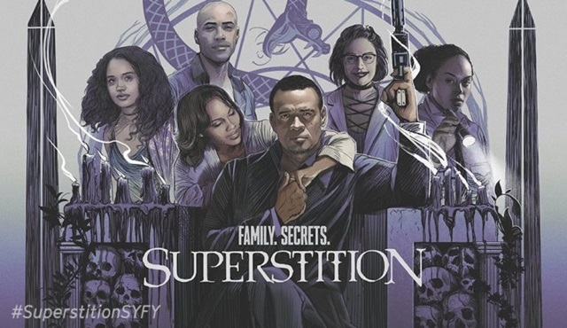 Syfy, Superstition dizisini iptal etti