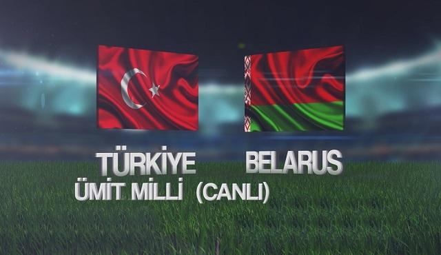 Türkiye U21 – Belarus U21 karşılaşması canlı yayınla TV8'de!