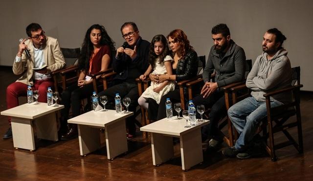 """""""Misafir"""" film ekibi Antalya Film Festivali'nde söyleşiye katıldı!"""