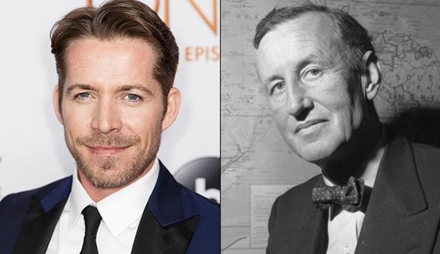 Sean Maguire, James Bond'un yazarını canlandıracak