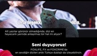 FOXLIFE, FX ve FOXCRIME kanalları artık Türkçe de konuşuyor!