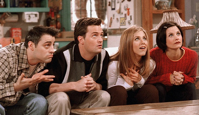 Friends yeniden Dizimax Comedy'de başlıyor