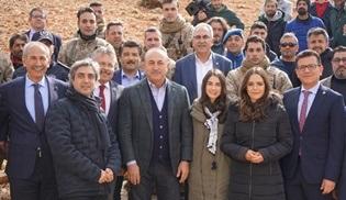 Dışişleri Bakanı Mevlüt Çavuşoğlu, Nöbet dizisinin setini ziyaret etti!