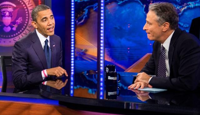 Amerikan Başkanı Barack Obama The Daily Show'a konuk olacak