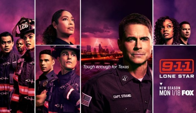 9-1-1: Lone Star, ikinci sezonuyla 18 Ocak'ta ekrana dönüyor