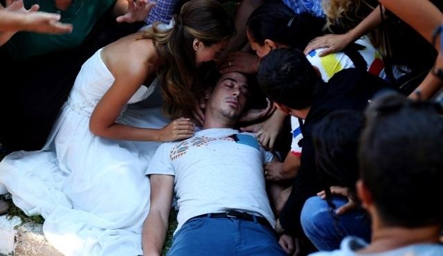 Kalbim Ege'de Kaldı: Mustafa gets shot, everyone is devastated