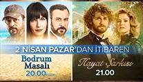 Kanal D'den bahar sürprizi: Hayat Şarkısı ve Bodrum Masalı aynı gün yayınlanacak