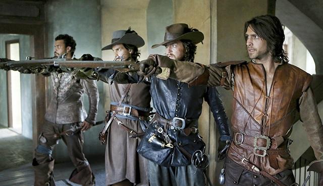 The Musketeers 3.Sezon dünya premiyerini TLC'de yapıyor