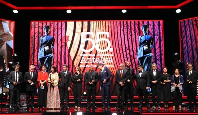 55. Uluslararası Antalya Film Festivali'nde ödüller sahiplerini buldu!