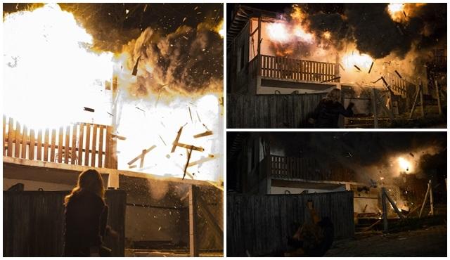 Eve Dönüş'ün çekimlerinde tehlikeli sahneler!