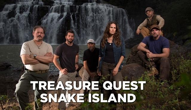 Hazine Arayışı: Yılan Adası, Discovery Channel'da başlıyor!