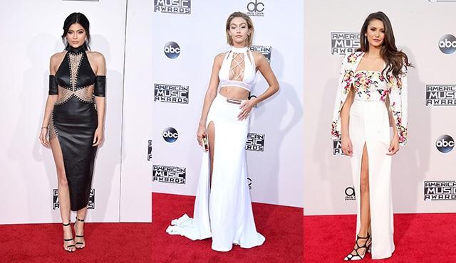 Amerikan Müzik Ödülleri'nde hangi ünlü ne giydi?