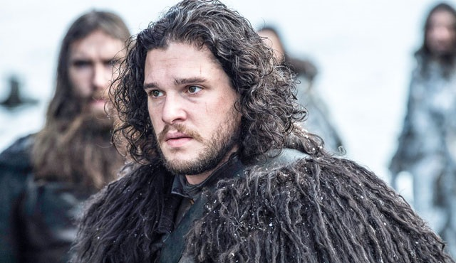Game of Thrones: Kit Harington sette görüntülendi