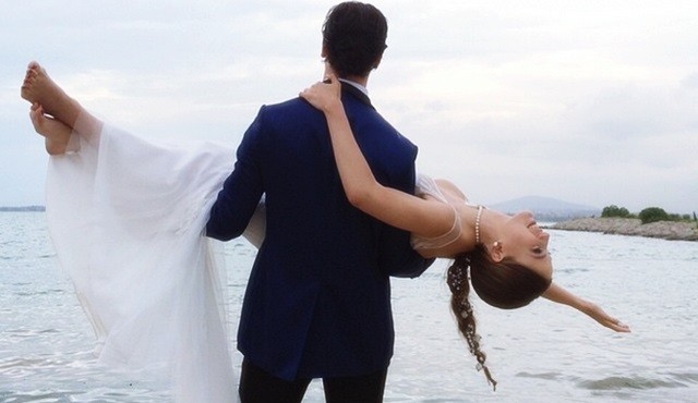 Yaman ve Mira'nın düğününden ilk kareler!