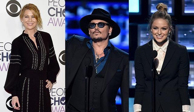 People's Choice Awards'ta hangi ünlü ne giydi?