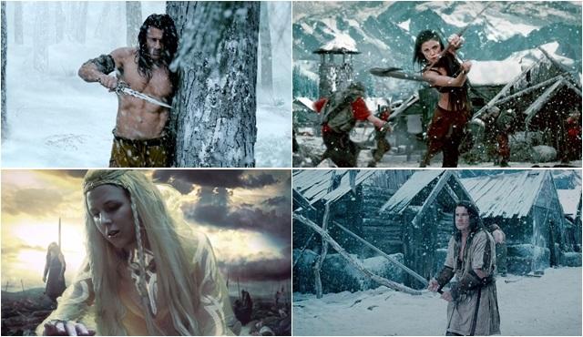TV'de ilk kez: Vikingler