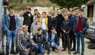 Çukurcalı gençler Çukur dizisinin setini ziyaret etti!